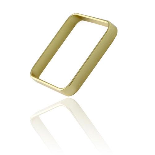 Foto 1 do Produto Anel Quadrado Xuxa folheado a ouro