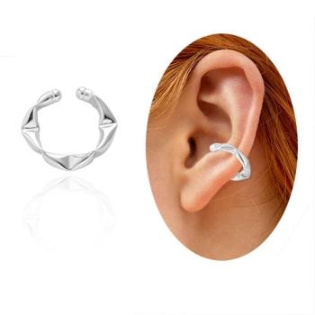 Piercing Fake de orelha folheado a prata - Juliette BBB - tamanho M