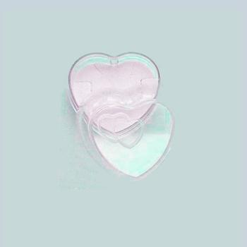 Caixinha de acrílico em forma de coração