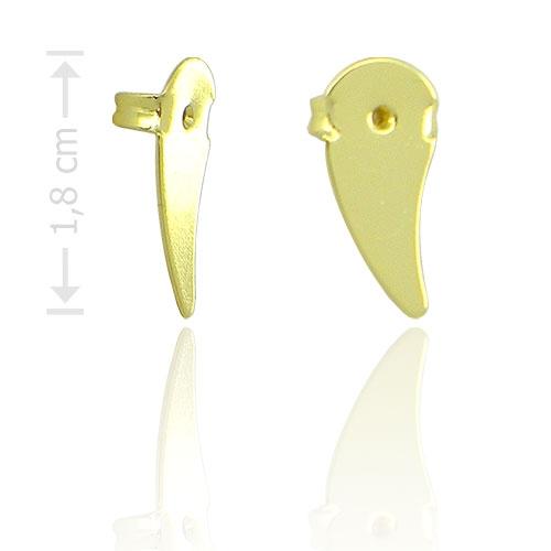 Foto 1 do Produto Tarraxa para brincos ear cuff folheada a ouro
